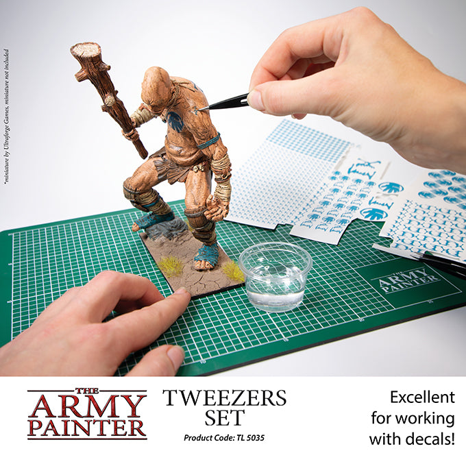 Tweezer Set for Miniatures