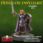 Reaper Miniatures - Female Human Fighter - painted