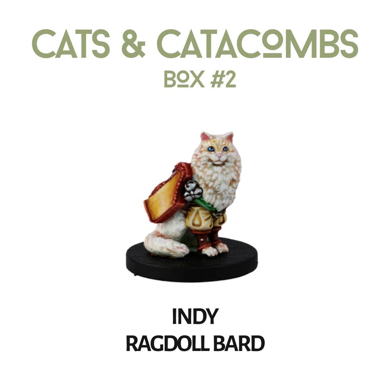 dnd miniatures - cats and catacombs - animal familiars