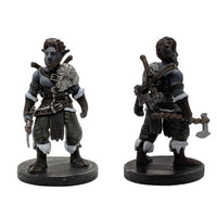 RPG Miniatures - Male Firbolg Barbarian - krakenship miniatures - painted
