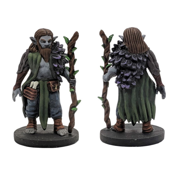 RPG Miniatures - Male Firbolg Druid - krakenship miniatures - painted