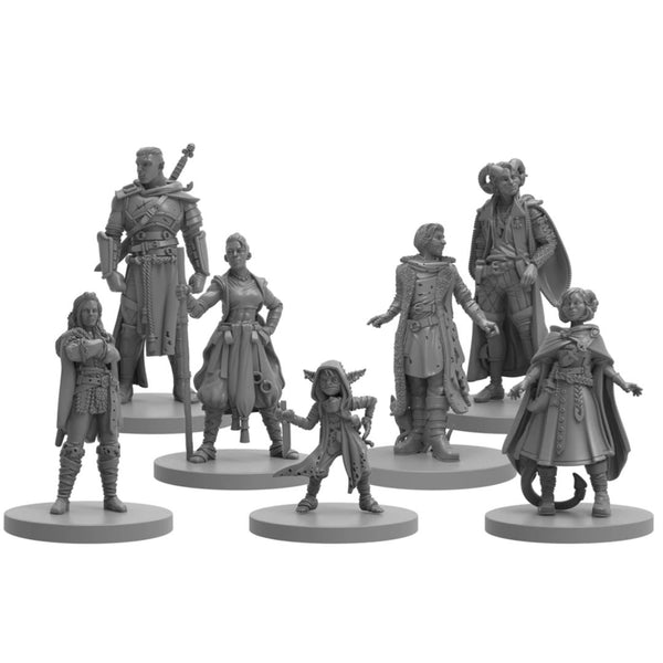 critical role plastic minis - mighty nein matt mercer