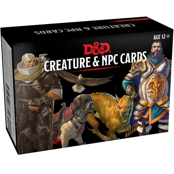 dnd creature & npc cards - dungeon masters