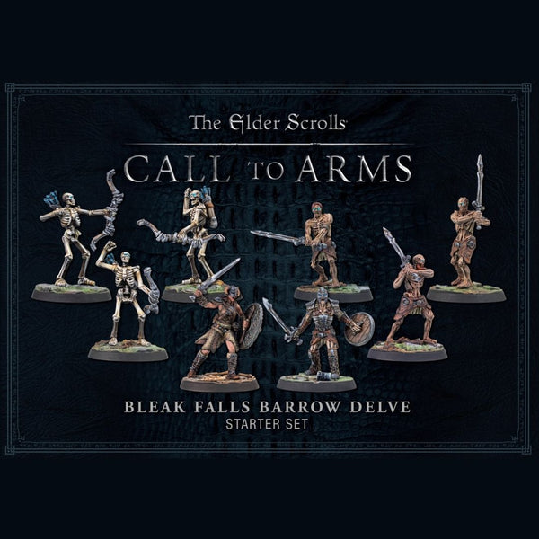 elder scrolls miniatures - Bleak Falls Barrow Delve
