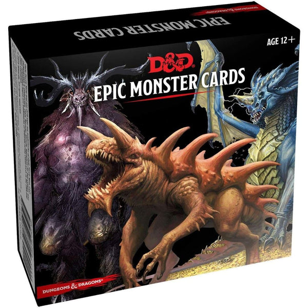 D&D Epic Monster Cards - dungeon master gear