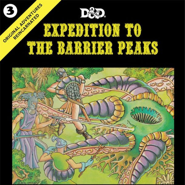dnd scifi adventure - Expedition to the Barrier Peaks