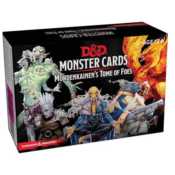 D&D Monster Cards - Mordenkainens Tome of Foes - Front Cover
