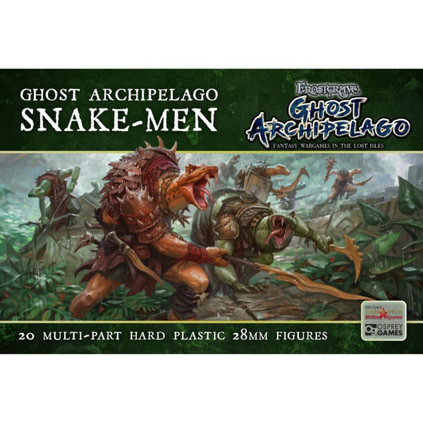 frostgrave lizard-men - d&d miniatures bulk