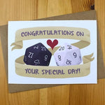 Greeting Card - Congratulations On Your Special Day - DND Australia