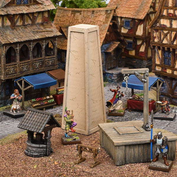 TerrainCrate Village Square - dnd terrain & scenery 28mm scale