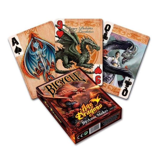 Anne Stokes - Age of Dragons: Playing Cards  ||  Bicycle Playing Cards