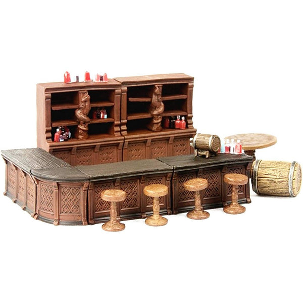 D&D Minis - Tavern Bar Set - Pathfinder Battles Rusty Dragon Inn