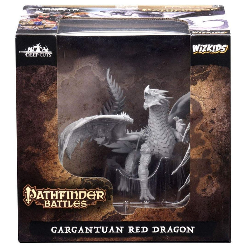 D&D miniature - ancient red dragon