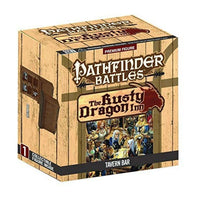 Pathfinder Miniatures - Tavern Bar Set - Pathfinder Battles Rusty Dragon Inn - Boxed Set