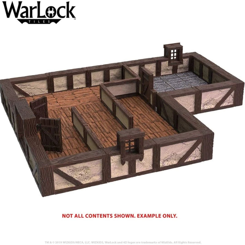 warlock tiles town and village set I