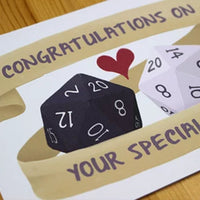 Greeting Card - Congratulations On Your Special Day - RPG Australia