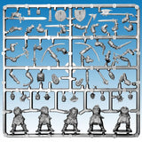 Frostgrave Soldiers - plastic dnd minis - sprue frame