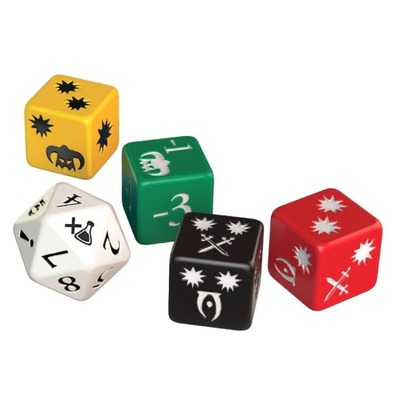 The Elder Scrolls - custom dice