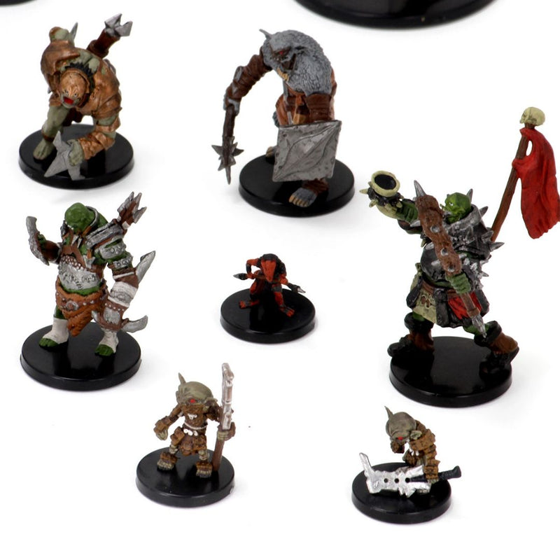 goblin guard, bugbear skulker pre painted minis