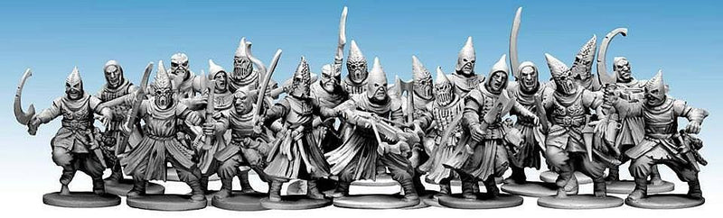 frostgrave cultists - dnd minis