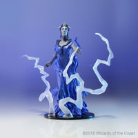 Iymrith, blue dragon sorcerer - prepainted d&d figure