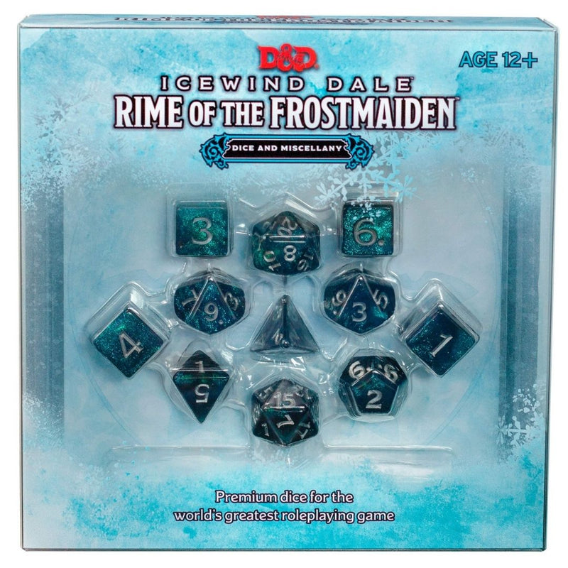 D&D Icewind Dale: Rime of the Frostmaiden Dice