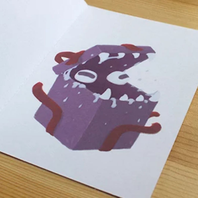 Birthday Card - Mimic Illustration- RPG Australia