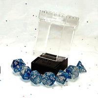 Dice Bag -Stackable Dice Tower Case - Holds 7 RPG Dice