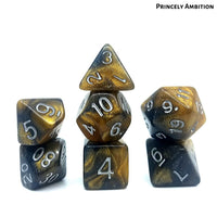 D&D Dice Sets - Princely Ambition - Dice Hub