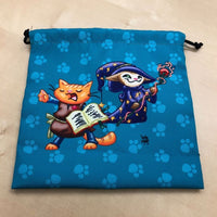 kitten dice bag
