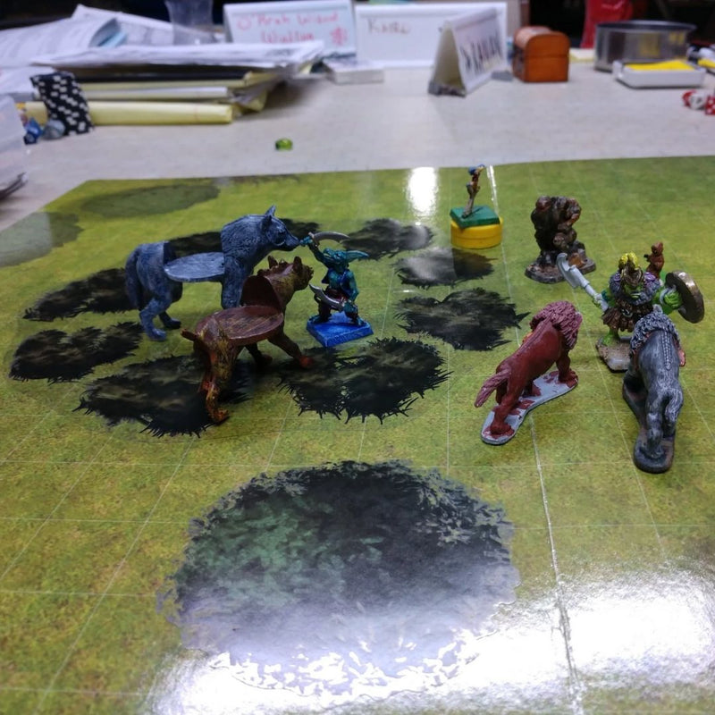 dnd 2d terrain - trees bushes stickers
