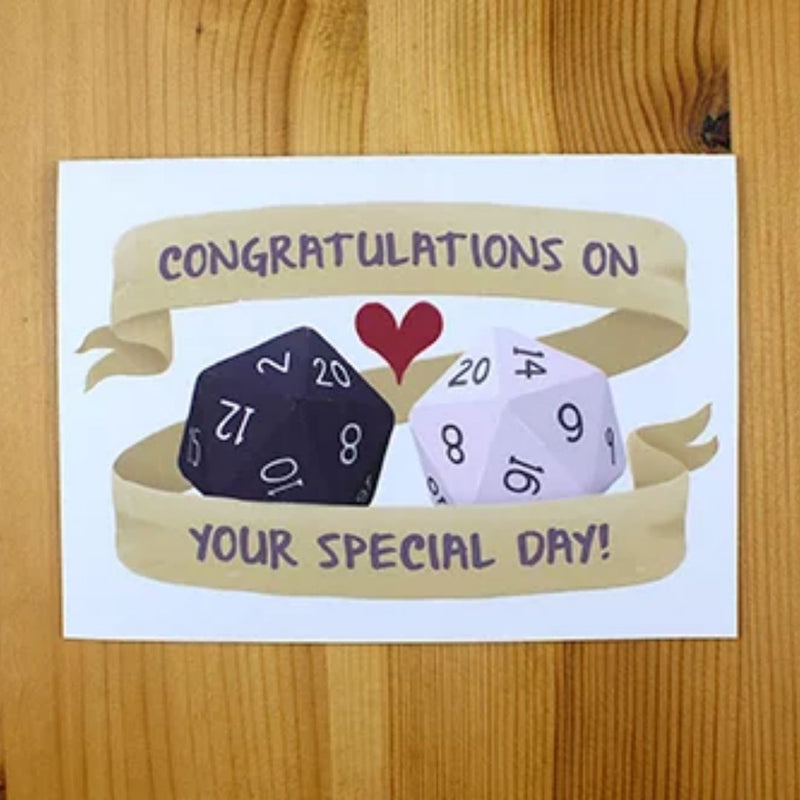 Wedding Card - Congratulations On Your Special Day - DND Australia