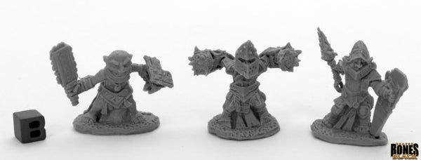 Reaper Miniatures - Gnome Fighter - Bones Black