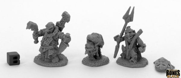 Reaper Miniatures - Deep Gnome - Bones Black