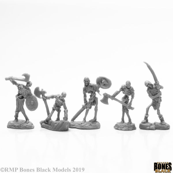 Reaper Miniatures - Skeletons - Bones Black