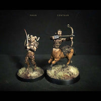 fauns and centaurs - wargames plastic miniatures