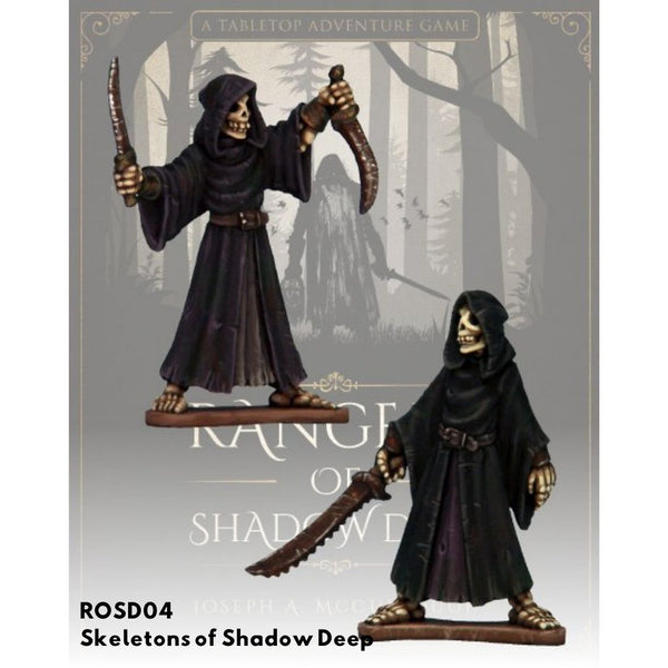 Skeletons of Shadow Deep - Unpainted minis - Rangers of Shadow Deep Australia