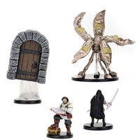animated door, pentadrone, darkling & Volothamp Geddarm - pre painted miniatures