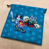 kitten adventurers dice bag