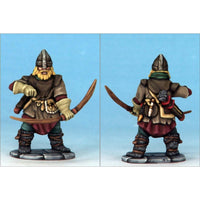 Frostgrave Soldiers - plastic dnd minis - archer