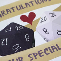 Greeting Card - Congratulations On Your Special Day - Fantasy