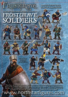 Frostgrave Soldiers - plastic dnd minis - painted examples