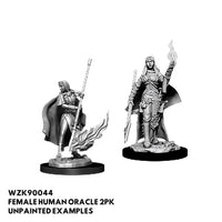 pathfinder miniatures - female human oracle