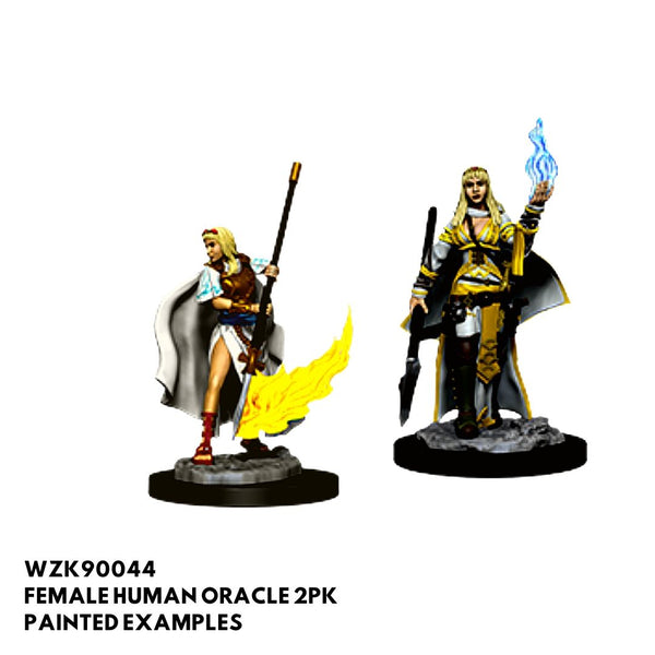 d&d miniatures - female human cleric
