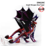 Dice Towers - e-Raptor Red Dragon Perspex Dice Tower