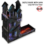 Dice Towers - e-Raptor - Castle Black: Large HDF Dice Tower