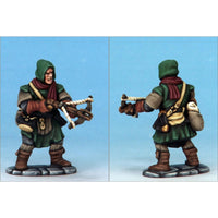 Frostgrave Soldiers - plastic dnd minis - crossbowman