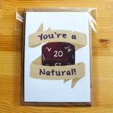 You're A Natural 20! - Stationery - D&D Australia