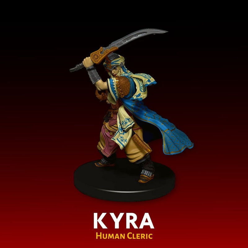 D&D Minis - Kyra, Human Cleric - Pre-painted Miniature