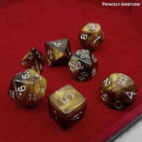 Dungeons and Dragons Dice - Princely Ambition